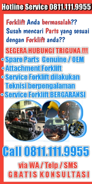 Jual spare parts forklift